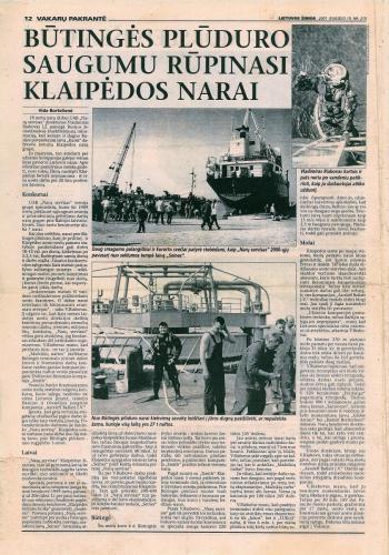 Naru servisas 2001-09-19